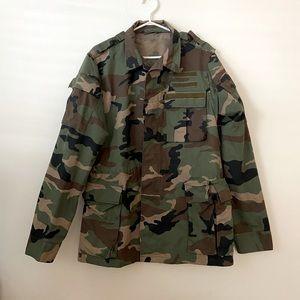 Vintage Slovakian Army Field Jacket